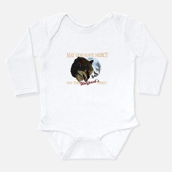 331st wolfpack Long Sleeve Infant Bodysuit