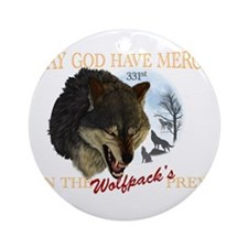 331st wolfpack Ornament (Round)