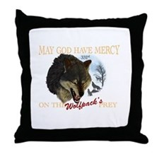 331st wolfpack Throw Pillow