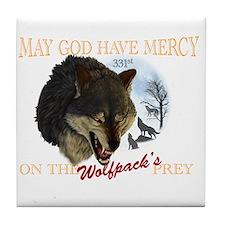 331st wolfpack Tile Coaster