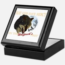 331st wolfpack Keepsake Box