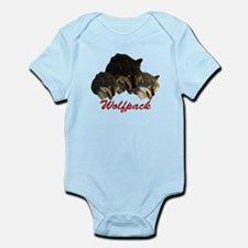 Wolfpack Front Infant Bodysuit
