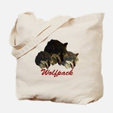 Wolfpack Front Tote Bag