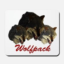 Wolfpack Front Mousepad