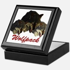 Wolfpack Front Keepsake Box