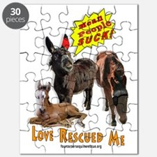Cute Equine rescue Puzzle