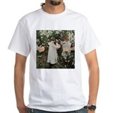 Fine art Mens White T-shirts
