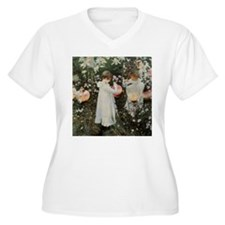Sargent Carnation, Lily, Lily, Rose T-Shirt