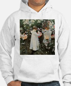 Sargent Carnation, Lily, Lily, Rose Hoodie