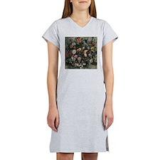 Delacroix Bouquet of Flowers Women's Nightshirt