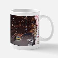 Snow Flakes Caught Mug