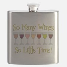 SO MANY WINES... Flask