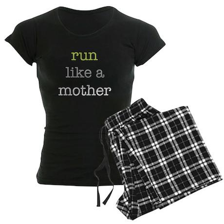 Run Like a Mother Women's Dark Pajamas