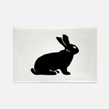 Rabbit Rectangle Magnet
