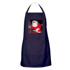Christmas Santa Claus Apron (dark)