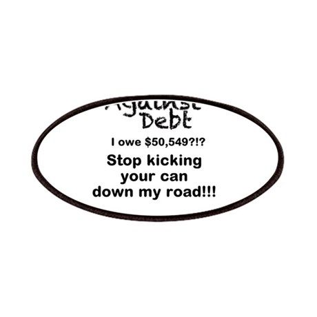Stop Kicking Your Can Down My Road $50k Patches