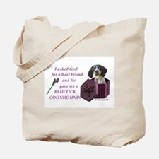 Bluetick Coonhound Tote Bag