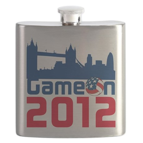 London Games Volleyball Flask