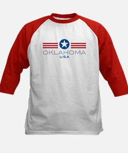 Oklahoma-Star Stripes: Tee