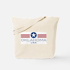 Oklahoma-Star Stripes: Tote Bag