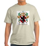 Young Coat of Arms Ash Grey T-Shirt