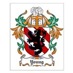 Young Coat of Arms Small Poster