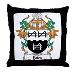 Yates Coat of Arms Throw Pillow
