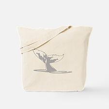 Humpback Whale Tail Tote Bag