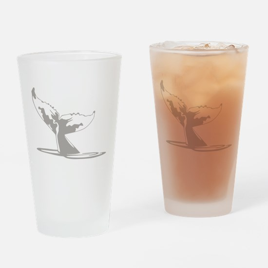 Humpback Whale Tail Drinking Glass