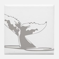 Humpback Whale Tail Tile Coaster