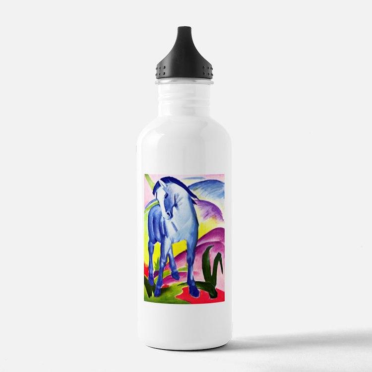 Franz Marc - Blue Horse I Water Bottle