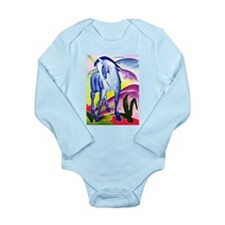 Franz Marc - Blue Horse I Onesie Romper Suit
