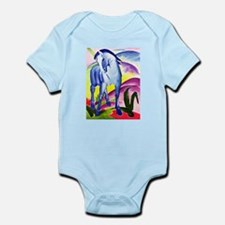 Franz Marc - Blue Horse I Infant Bodysuit