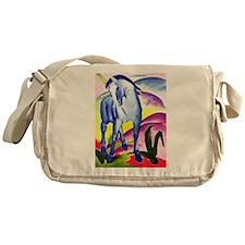 Franz Marc - Blue Horse I Messenger Bag