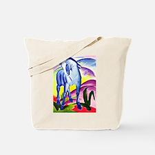 Franz Marc - Blue Horse I Tote Bag