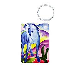 Franz Marc - Blue Horse I Aluminum Photo Keychain