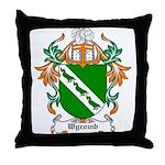 Wycomb Coat of Arms Throw Pillow