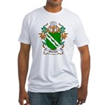 Wycomb Coat of Arms Fitted T-Shirt