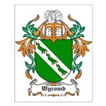 Wycomb Coat of Arms Small Poster