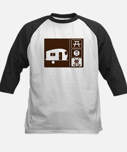 Funny Camping Sign Tee