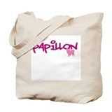 Papillon Canvas Totes