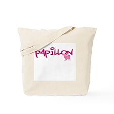 "Papillon ""Pink"" Tote Bag"