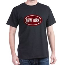 New York Euro Black T-Shirt