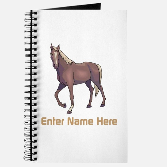Personalized Horse Journal
