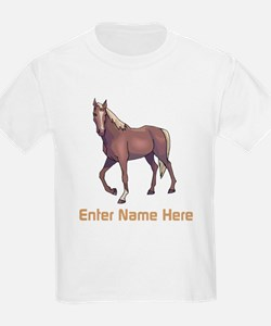 Personalized Horse T-Shirt
