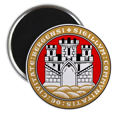 Bergen, Norway Magnet