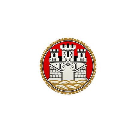 Bergen, Norway Mini Button (100 pack)