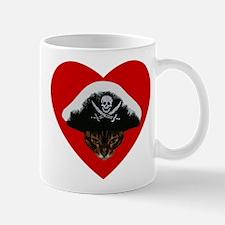 Love Pirate Cat Mug