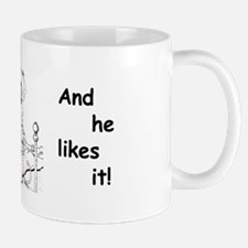 """""""Mommy Spanks Daddy and he likes it!"""" Mug"""