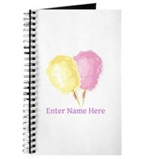 Personalized Cotton Candy Journal